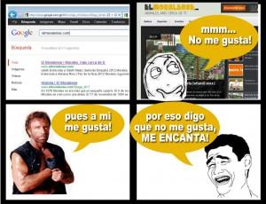 El meme con Chuck Norris